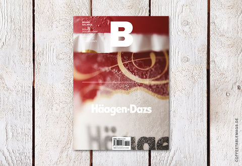 Magazine B – Issue 47: Häagen-Dasz – Cover