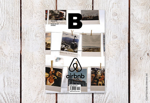 Magazine B – Issue 48 (Airbnb) – Cover
