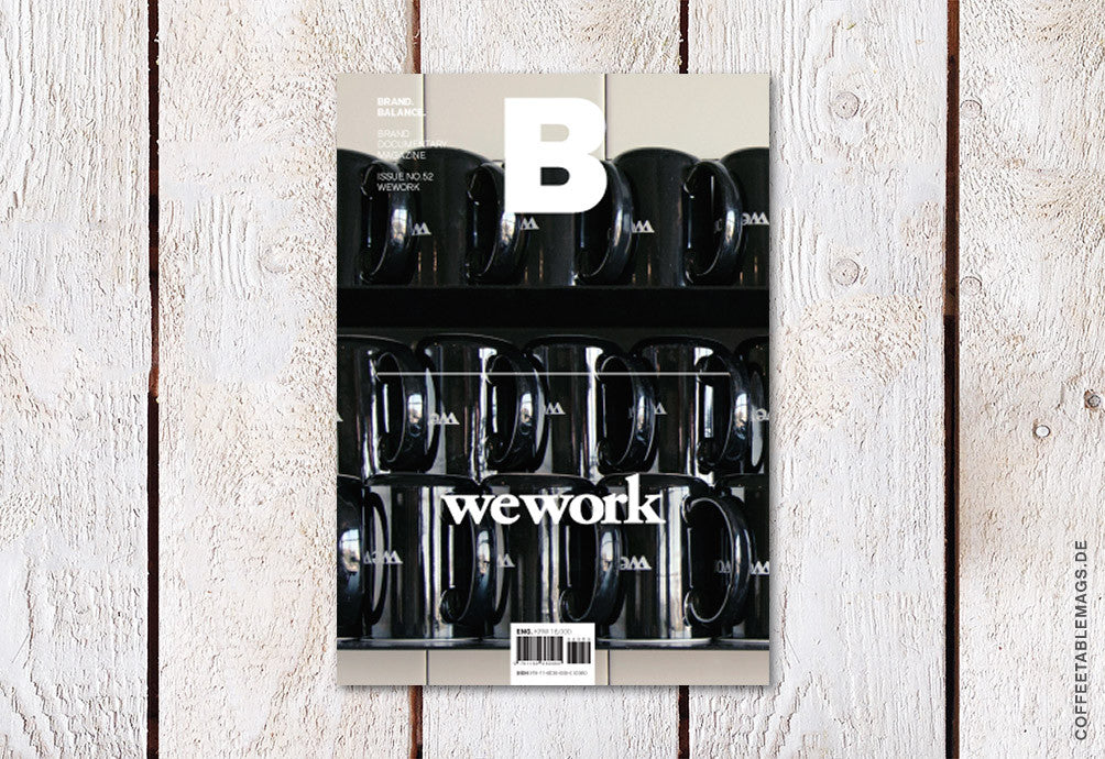 Magazine B – Issue 52 (We Work) – Cover
