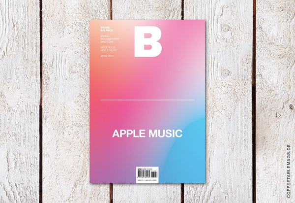 Magazine B – Issue 55 (Apple Music) – Cover