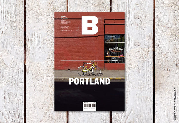 Magazine B – Issue 58: Portland – Cover