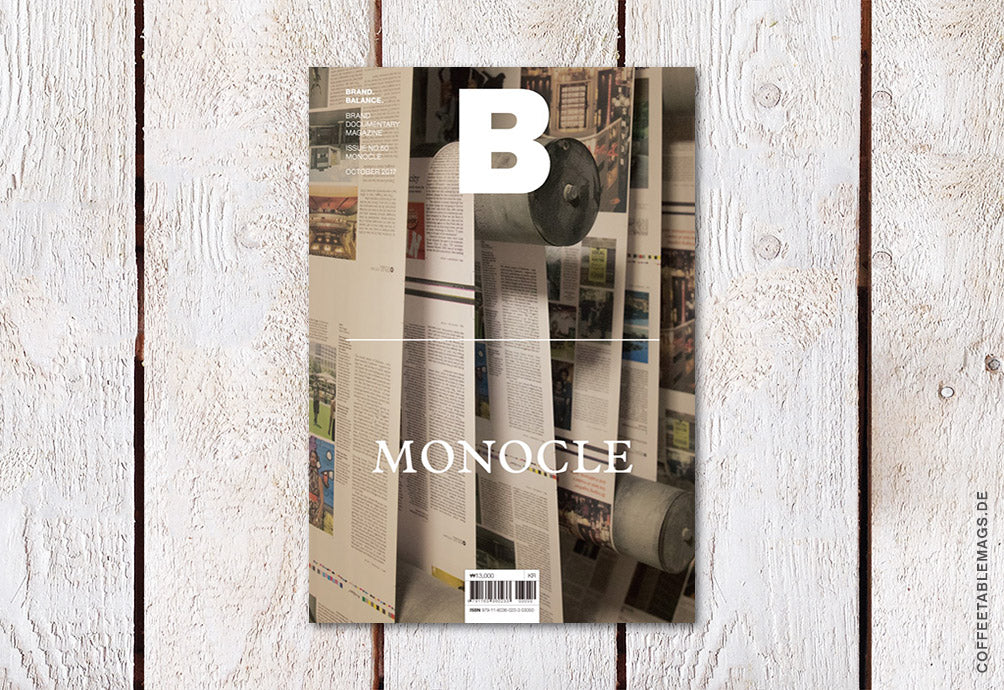 Magazine B – Issue 60: Monocle – Cover