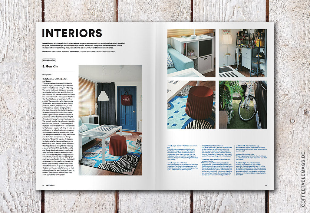 Magazine B – Issue 63: Ikea – Coffee Table Mags