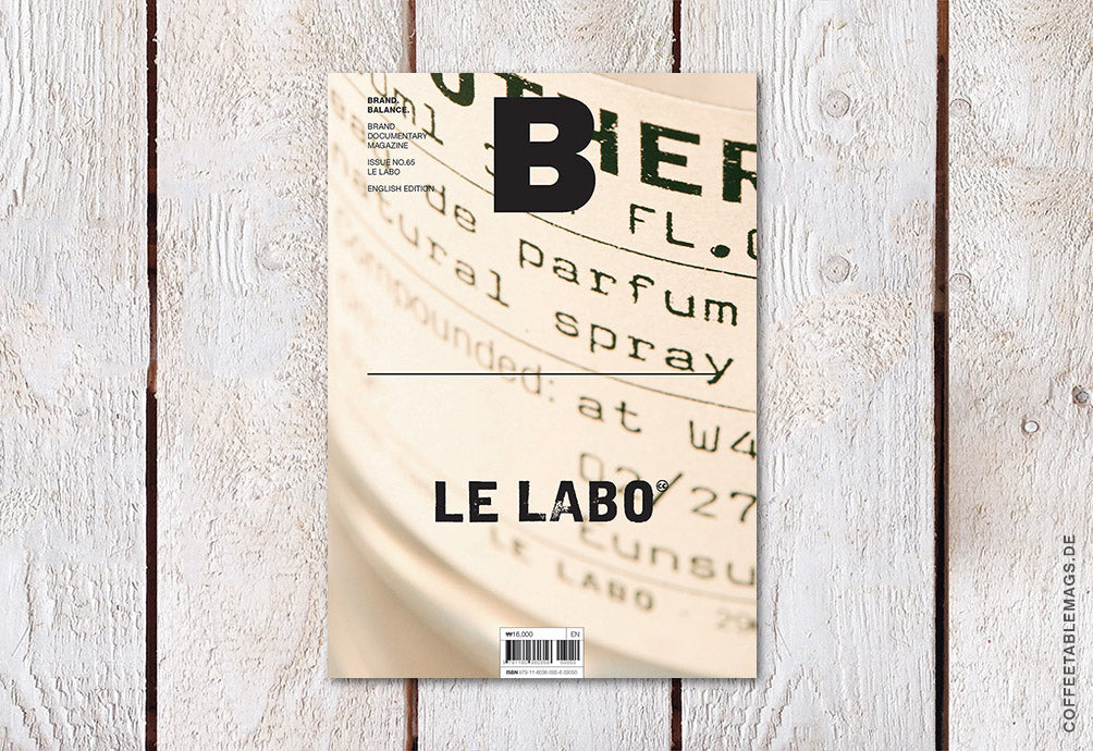 Magazine B – Issue 65: Le Labo – Cover