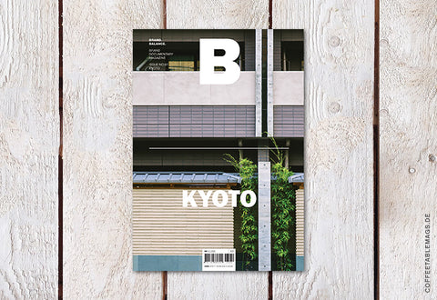 Magazine B – Issue 67: Kyoto – Cover