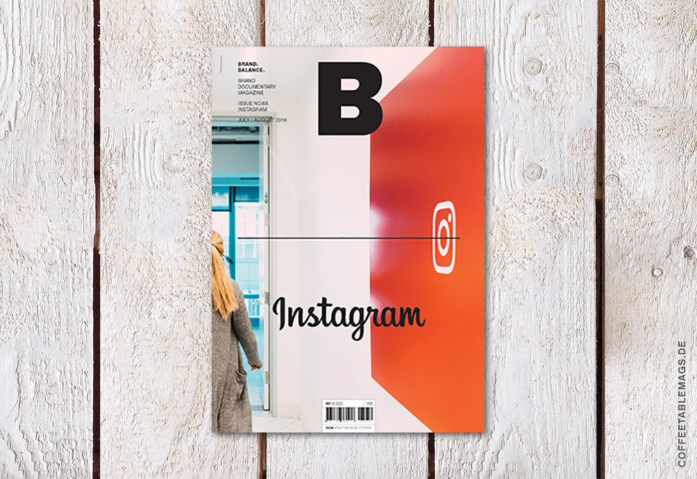 Magazine B – Issue 68: Instagram – Cover