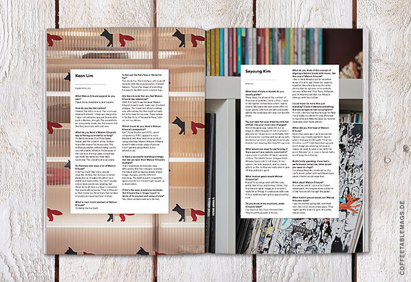 Magazine B – Issue 69: Maison Kitsuné – Inside 02