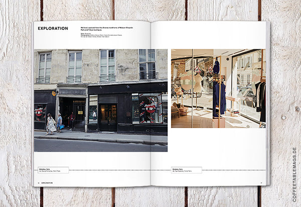 Magazine B – Issue 69: Maison Kitsuné – Inside 03