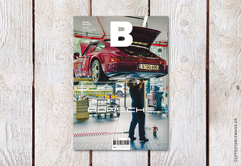 Coffee Table Mags // Independent Magazines // Magazine B – Issue 70: Porsche – Cover