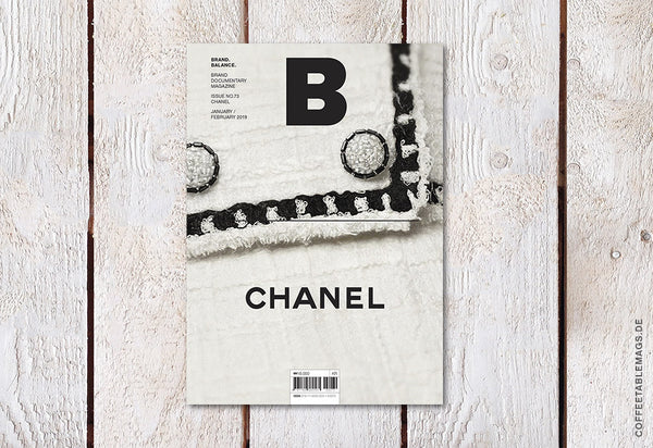 Coffee Table Mags / Independent Magazines / Magazine B – Issue 73: Chanel – Cover