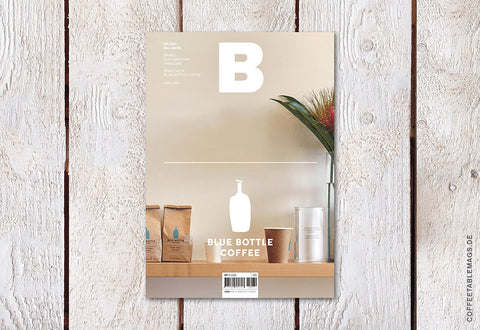 Magazine B – Issue 76: Blue Bottle – Cover
