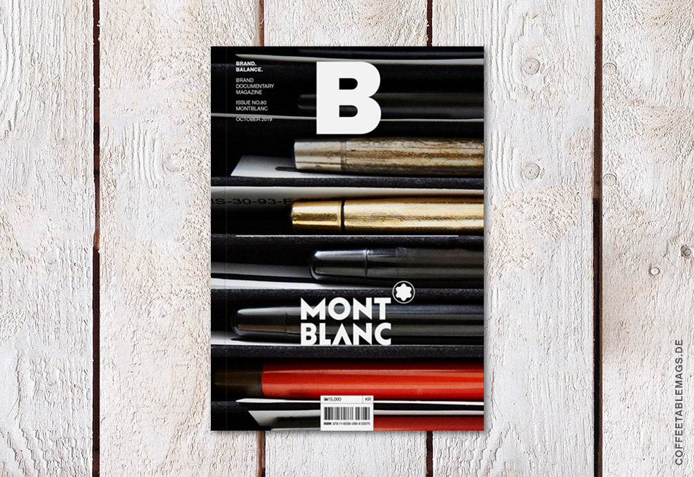 Magazine B – Issue 80: Montblanc – Cover