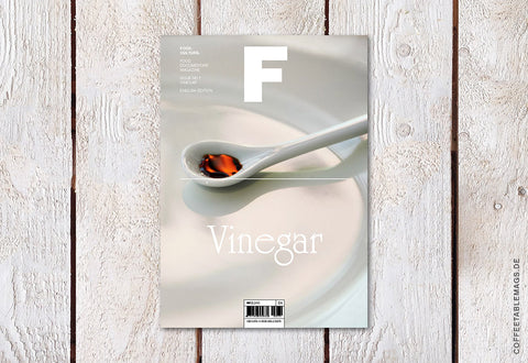 Magazine F – Issue 07: Vinegar – Cover