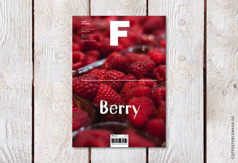 Magazine F – Issue 10: Berry – Cover