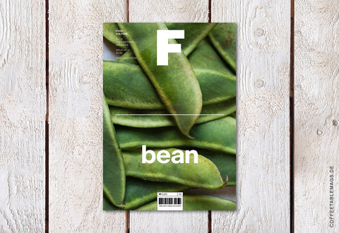 Magazine F – Issue 11: Bean – Cover