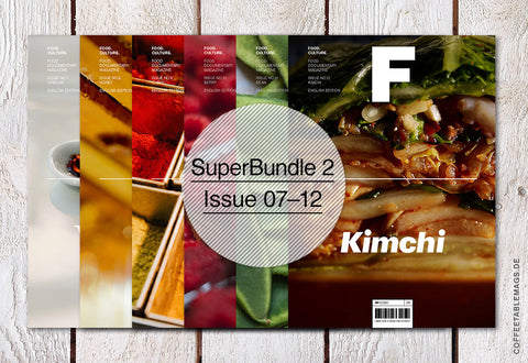 Magazine F – Super Bundle 2 (Issue 07–12) – Cover