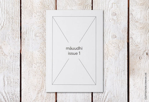 Måuudhi – Issue 01 – Cover