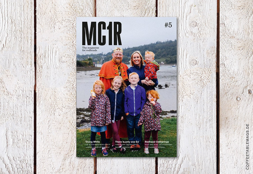 MC1R (The Magazine for Redheads) – Issue 5 – Cover