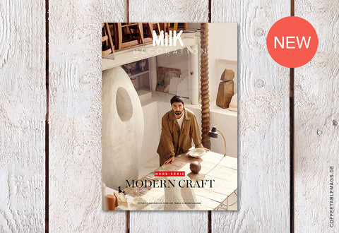 Milk Decoration Hors-Série – Number 09: Modern Craft – Cover