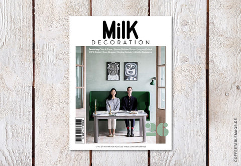 Milk Decoration – Number 26 – Cover