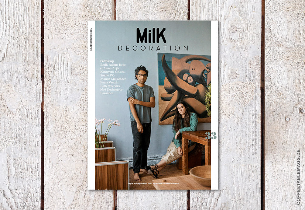 Milk Decoration – Number 33 – Cover