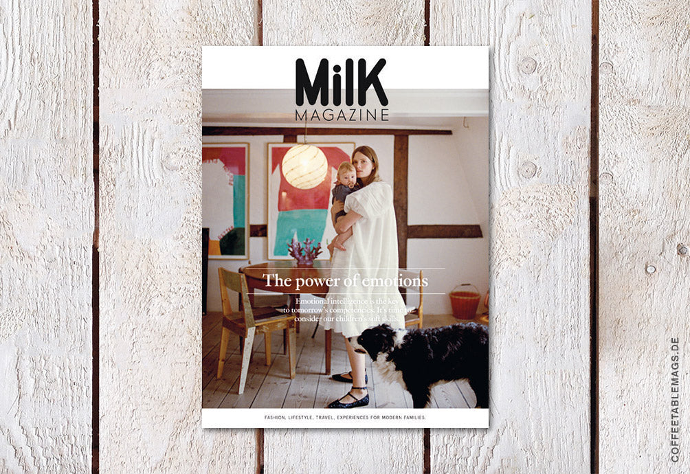 Milk Magazine – Number 66: The Power of Emotions – Cover