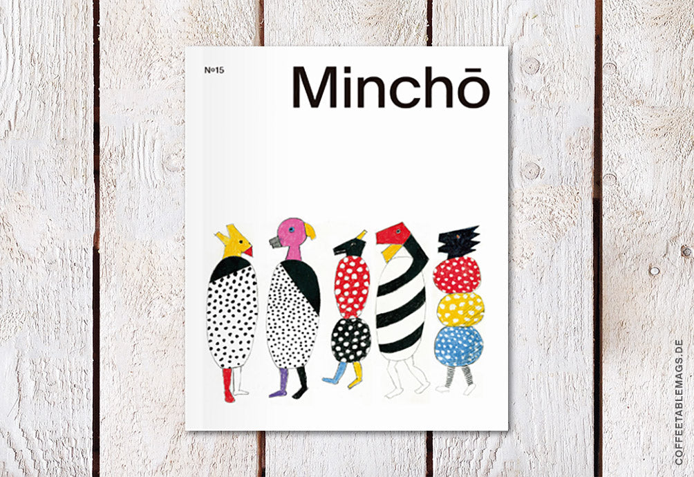 Minchō Magazine – Issue 15 – Cover