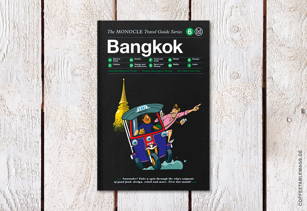 The Monocle Travel Guide Series – Number 06: Bangkok – Cover