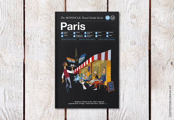 The Monocle Travel Guide Series – Number 10: Paris – Cover