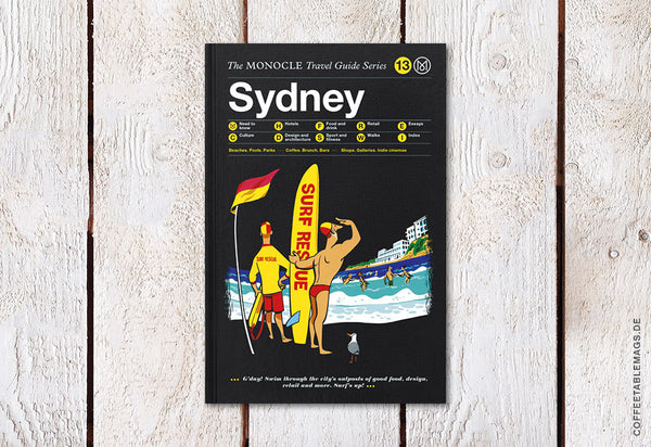 The Monocle Travel Guide Series – Number 13: Sydney – Cover