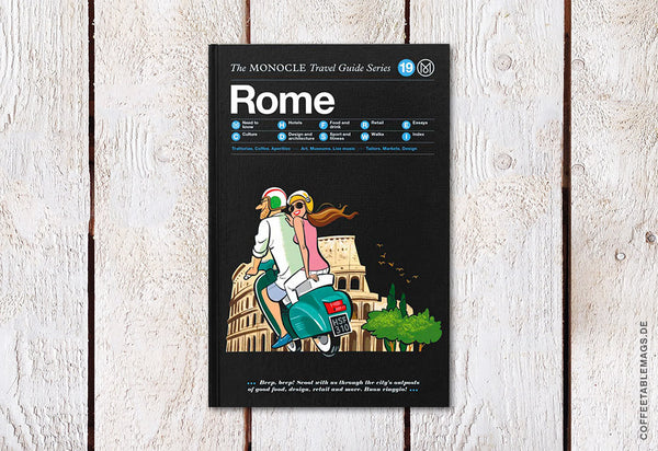 The Monocle Travel Guide Series – Number 19: Rome – Cover