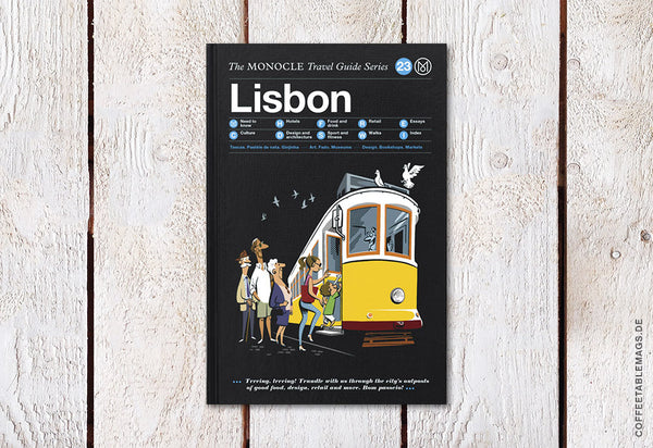 The Monocle Travel Guide Series – Number 23: Lisbon – Cover