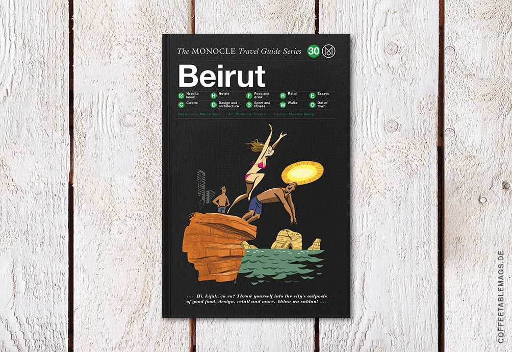 The Monocle Travel Guide Series – Number 30: Beirut – Cover