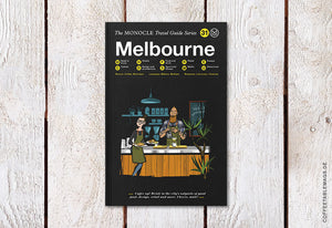 The Monocle Travel Guide Series – Number 31: Melbourne – Cover