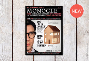 Coffee Table Mags / Independent Magazines / Monocle – Issue 123: Our new design world – Cover