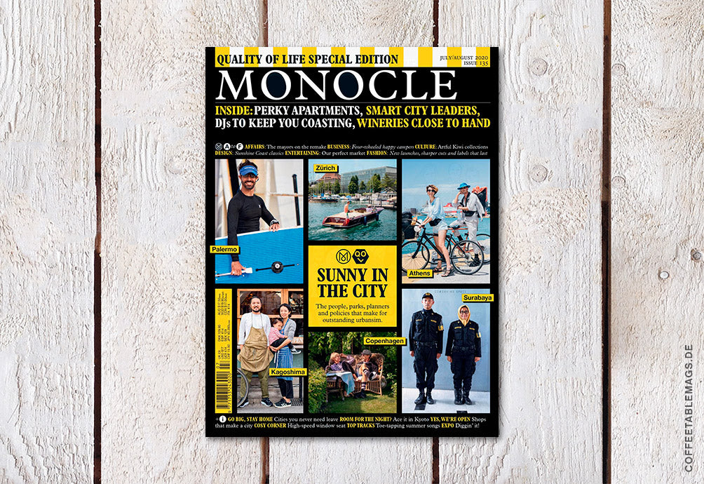 Monocle – Issue 135: Quality of Life Special Edition – Cover