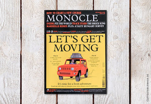 Monocle – Issue 136: Let's Get Moving – Cover