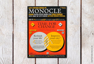 Monocle – Issue 138: Time for Change – Cover