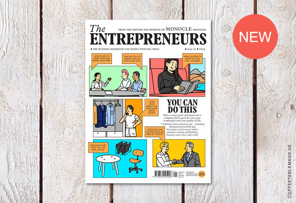 The Entrepreneurs (by Monocle Magazine) – Issue 01 – Cover
