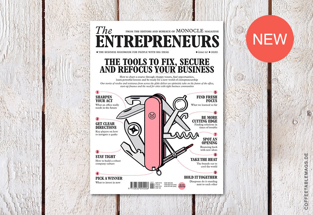 The Entrepreneurs (by Monocle Magazine) – Issue 02 – Cover