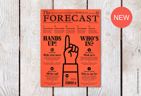 The Forecast 2021 (by Monocle Magazine) – Cover