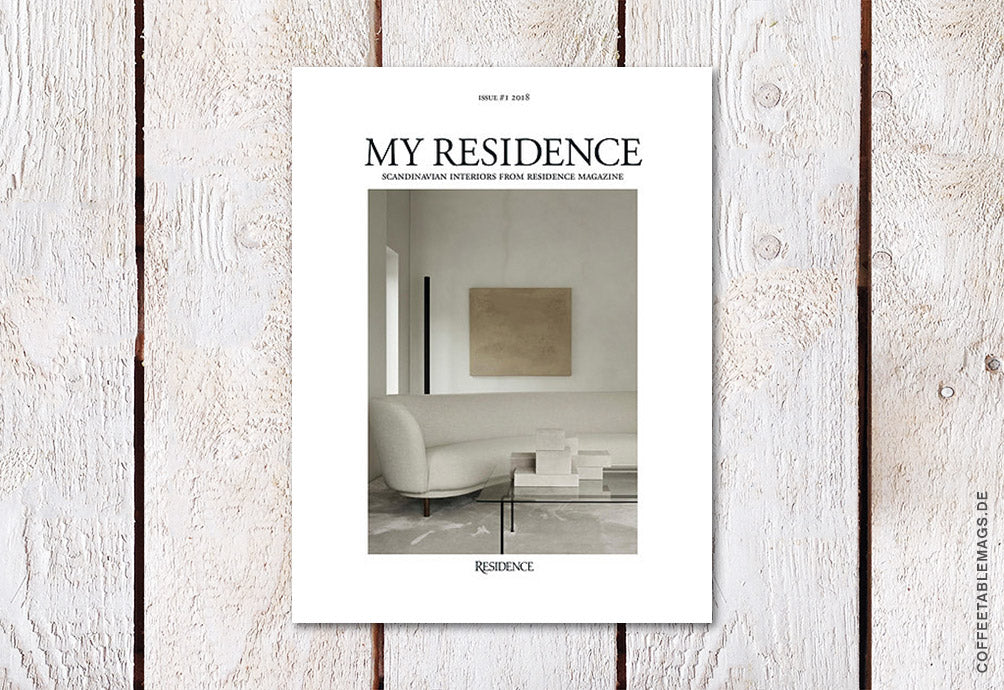 Coffee Table Mags // Independent Magazines // My Residence – Issue 3 (2018) – Cover
