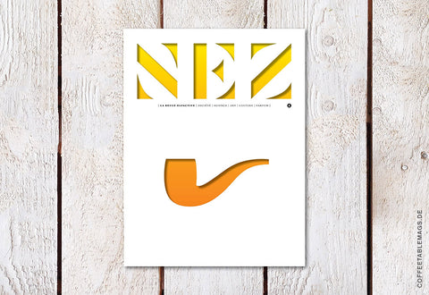 NEZ, The Olfactory Magazine – Number 04: Perfume and Art – Cover