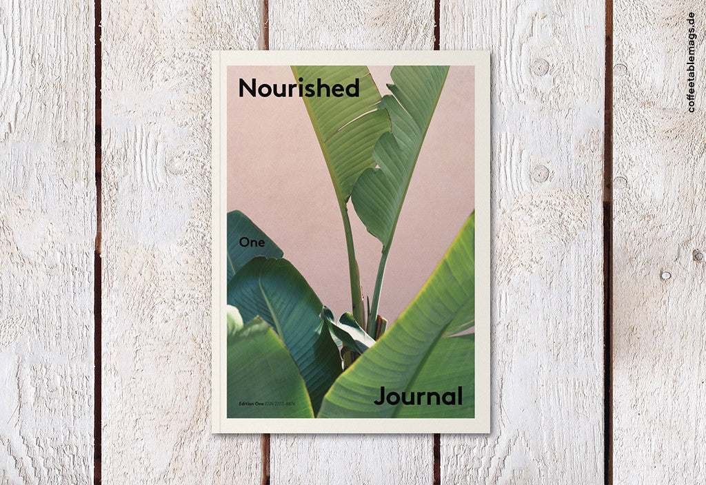 Nourished Journal – Issue 1 – Cover