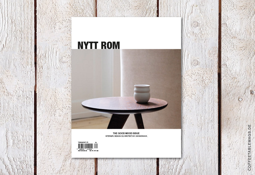 Nytt Rom – Issue 75: The Good Mood Issue – Cover