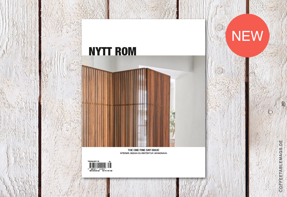 Nytt Rom – Issue 78: The One Fine Day Issue – Cover