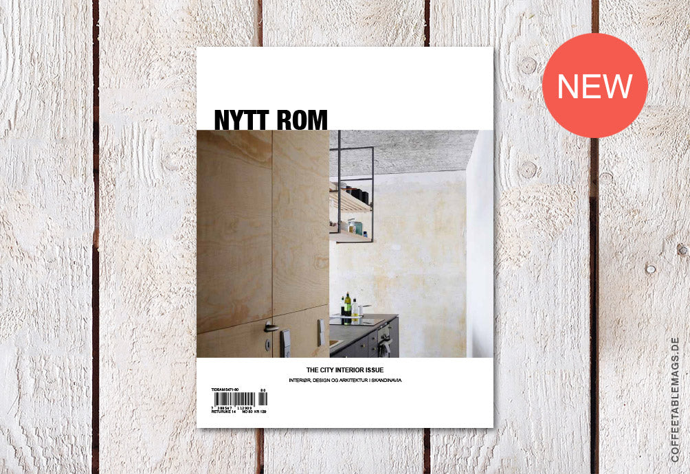 Nytt Rom – Issue 80: The City Interior Issue – Cover