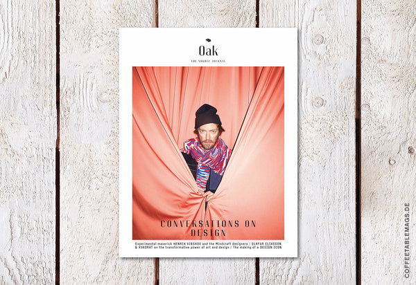 Oak – The Nordic Journal – Issue 7: The Design Issue – Cover