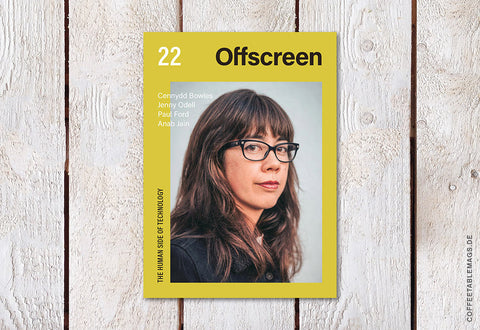 Offscreen – Issue 22 – Cover