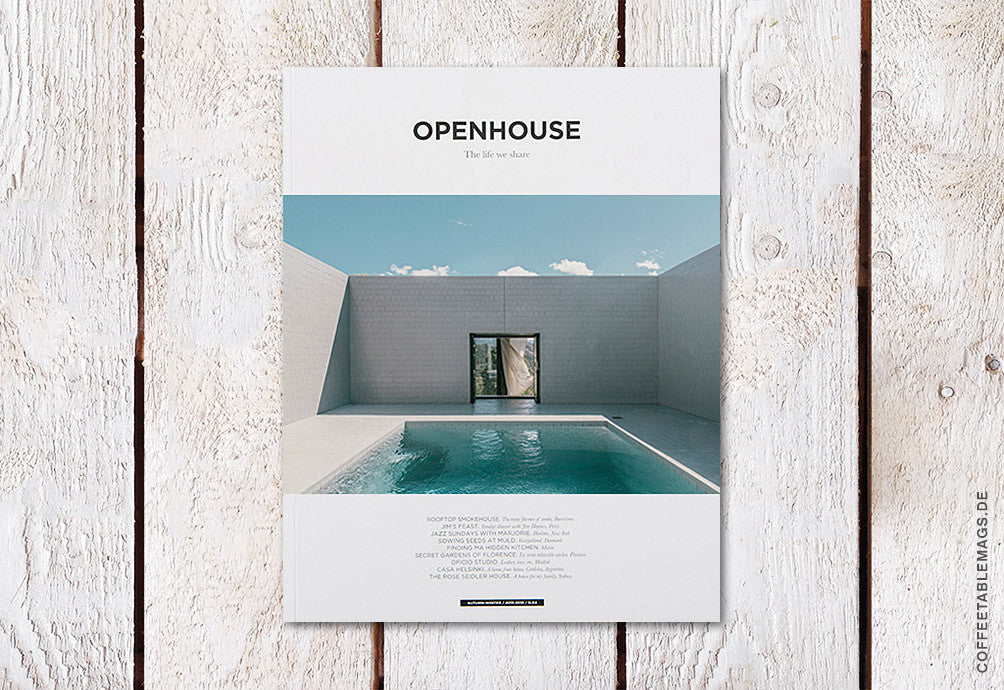 Openhouse Magazine – Issue 5 – Cover